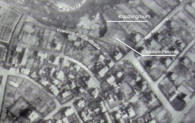 Aerial image of the Kouzergroum