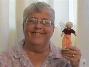 Grandma Lerman with Fairy Grandma Lerman