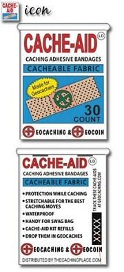 cache aid geocoin