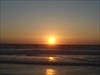 Sun set log image