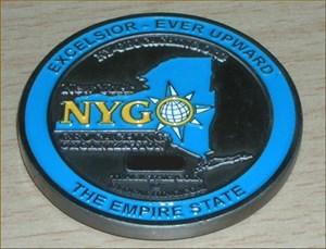 New York Geocoin I