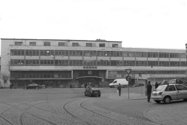 Hlavní pošta ulice Nádražní