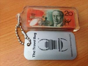 Australian $20 note (Keyring) TB