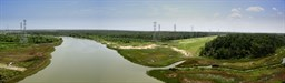 "Click to view ""Cedar Bayou panorama - south view"
