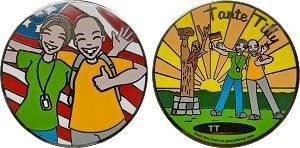 Team Tante Tilly Personal Geocoin