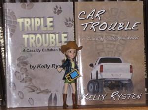 Cassidy Callahan and her GPS geocoin