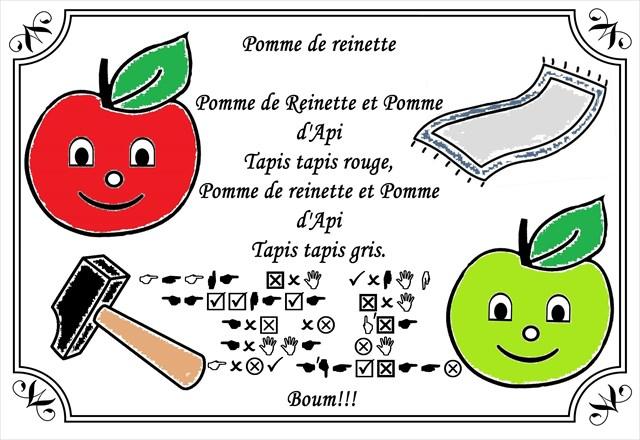 Paroles Pomme De Reinette