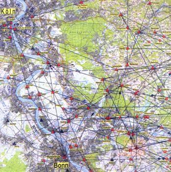 Das Netz der Wegekreuze