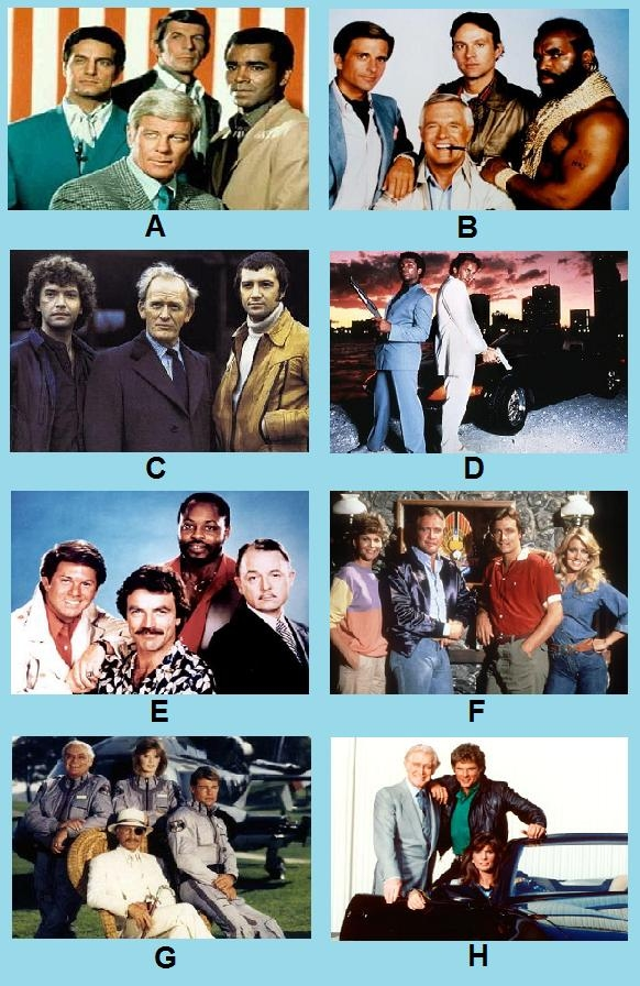 serien der 70er und 80er