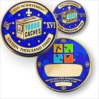 16000 Finds Geo-Achievement Geocoin