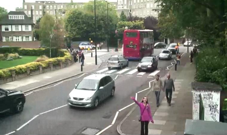 gc6f12 london beatles abbey road webcam cache in london united