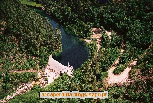 Barragem - Vista aérea