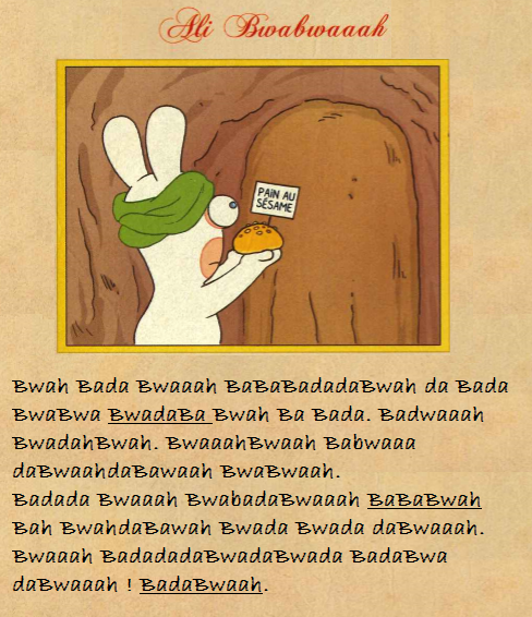 Ali BwaBwaaaah