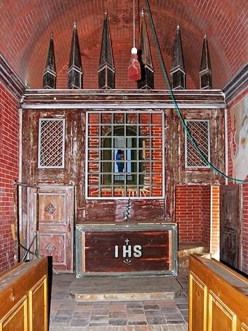 oltář kaple - Loreta u Klatov