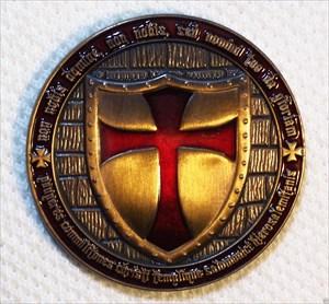 Knights Templar Geocoin