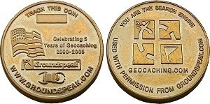2005 USA Geocoin