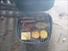 Fleisch aufgelegt