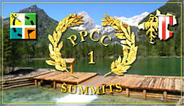 Banner: PPete-Challenge-Cache (PPCC 1): Summits