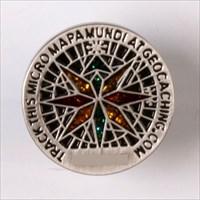 Micro Mapa Mundi coin