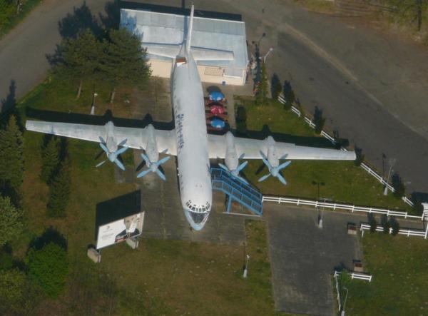 Letadlo na R10