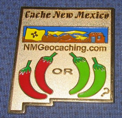 Vlastik7's New Mexico Geocoin 2007