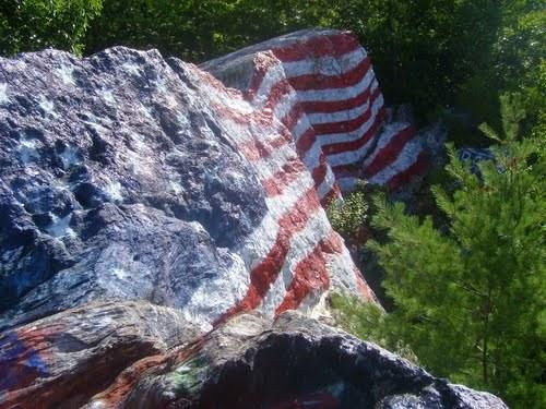 american flag graffiti - photo #9