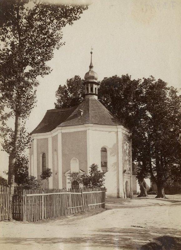 původní kostelík