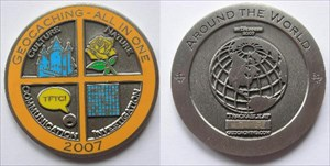 Broilers All In One Geocoin 2007