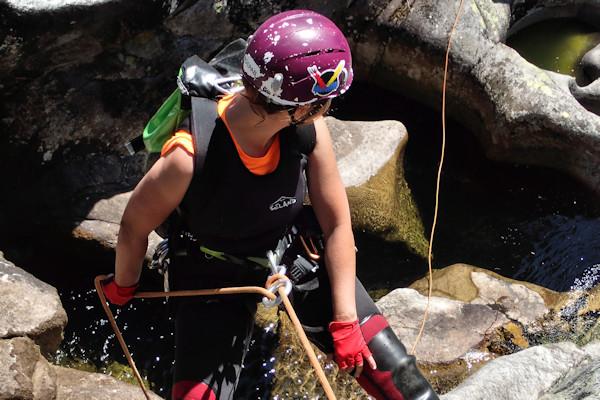 Canyoning no Rio Germil