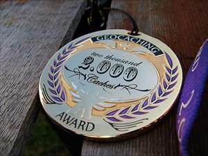 Award Geocoin -2.000-