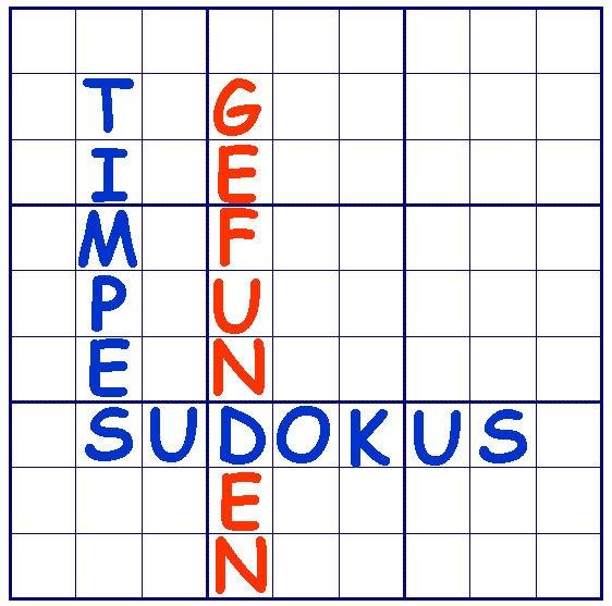 Timpes Sudokurunde am 05.03.2016