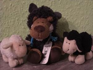 Der Wolf im Schafspelz und seine zwei Freunde