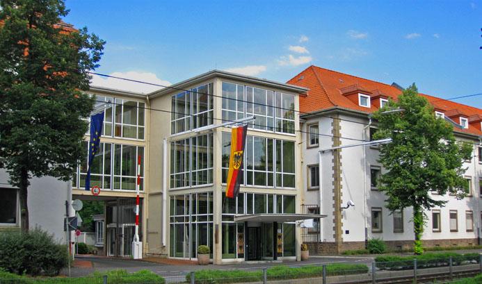 Haupttor des BMI in Bonn