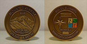 Seven Summit Geocoin - Mount Everest - 571