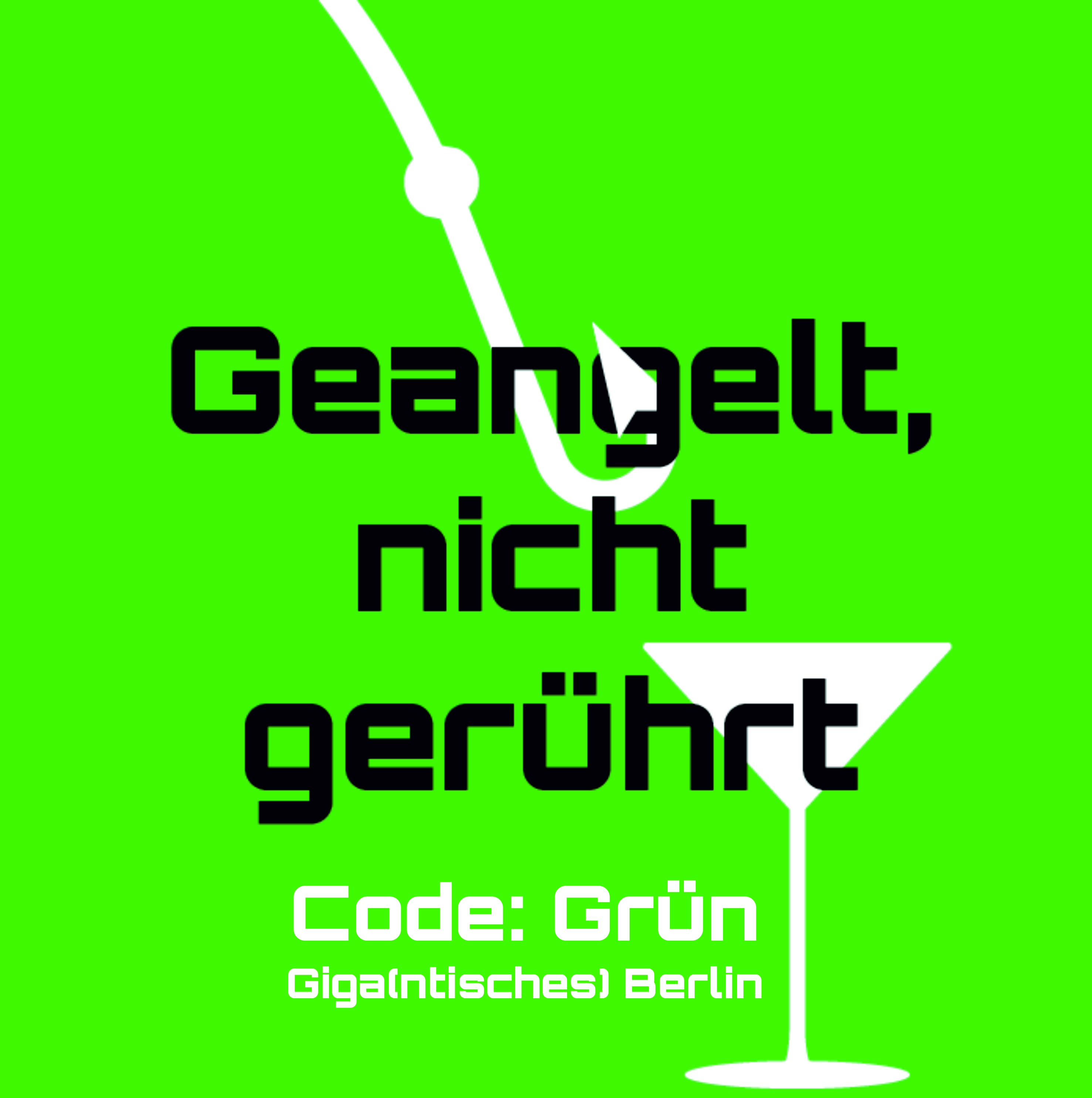 Banner Code grün