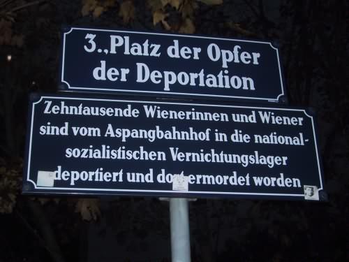 Platz der Opfer der Deportation