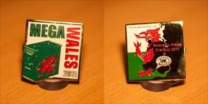 2011 Mega Wales Geocoin
