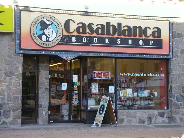 stores in kitchener quot casablanca bookshop quot kitchener ontario ca used book