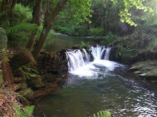 Uma das inúmeras cascatas