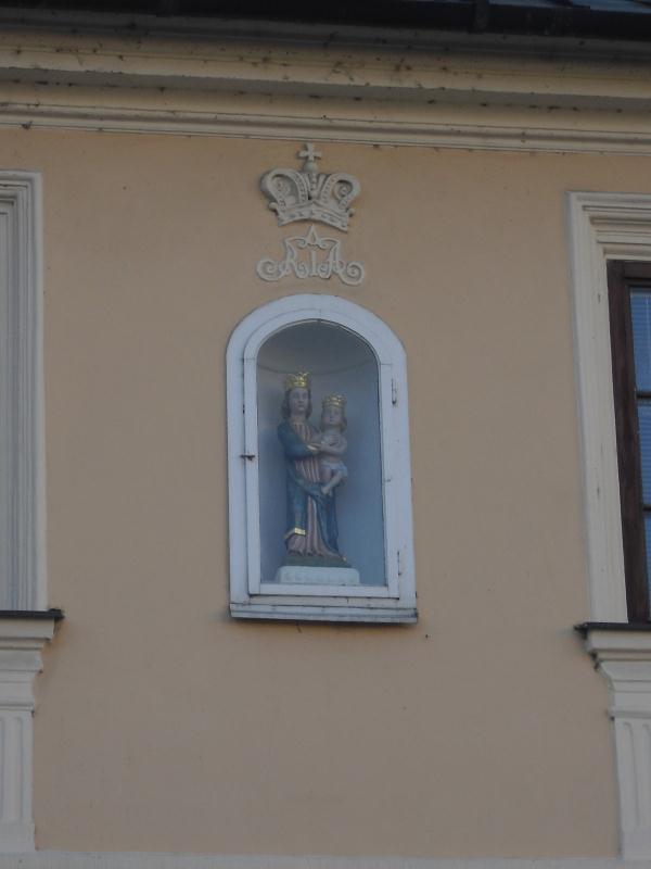 Plastika Panny Marie s Ježíškem