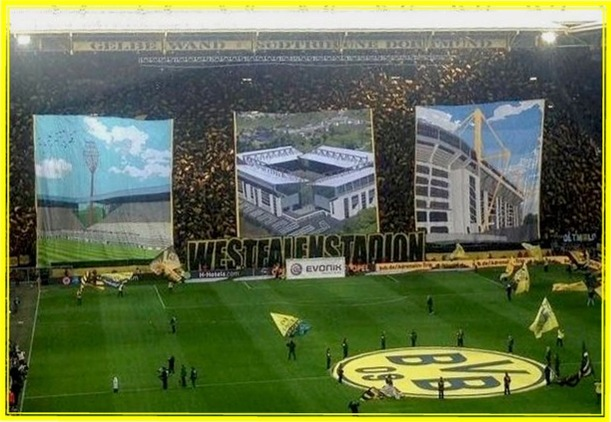Gelbe Wand - Südtribüne Dortmund