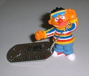 Ernie & tag