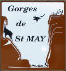 Panneau Gorges de St. May