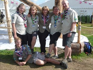 My Scouting Family at WSJ 2011