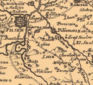 Vogtova mapa Čech