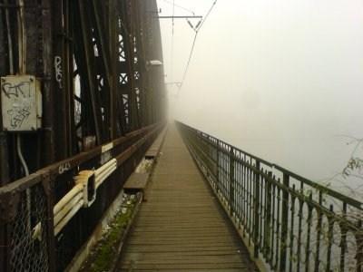 Místa častých zjevení - Železniční most