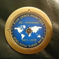 5h anniversary coin
