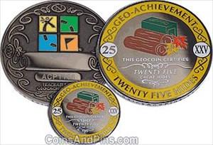 Die 25er Coin