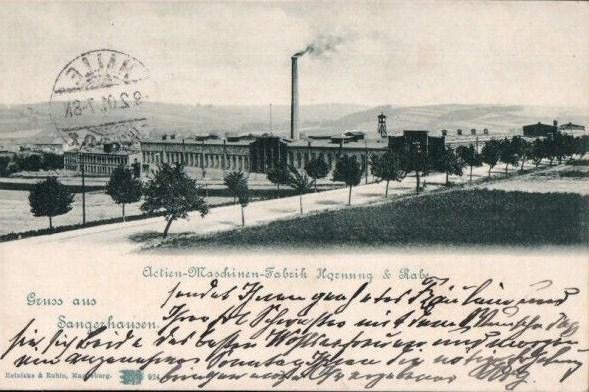 Actien-Maschinenfabrik Hornung & Rabe