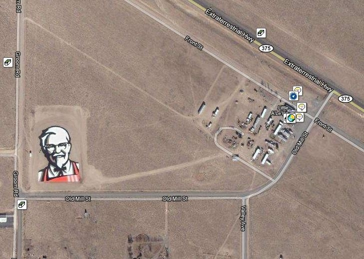 Image result for colonel sanders google maps